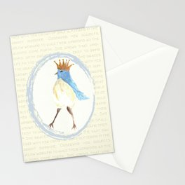 Queen of the Bluebirds Stationery Cards