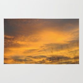 COME AWAY WITH ME - Autumn Sunset #2 #art #society6 Rug