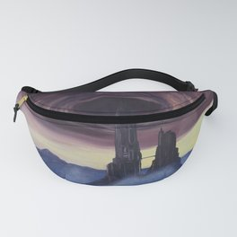 The Vortex - A Borderlands 2 Inspired Oil Painting Fanny Pack