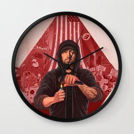 The Show (RED) Wall Clock