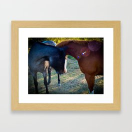 Meeting of the Minds Framed Art Print