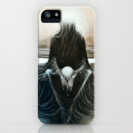 Copy from Zdzisław Beksiński iPhone Case