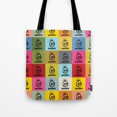 HAPPY SQUARES Tote Bag