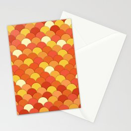 Laranja . Orange Stationery Cards