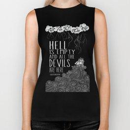 Hell is Empty Biker Tank