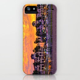 Surf City Sunrise iPhone Case