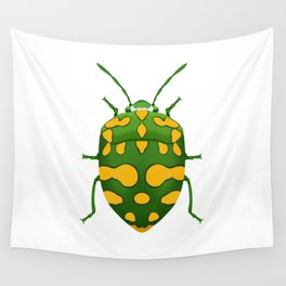 Physic Nut Stink Bug Wall Tapestry