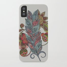 One little feather iPhone Case