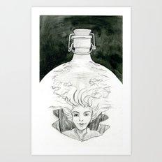 Bottled Art Print