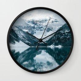 Lake Louise IV Wall Clock