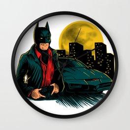 Knight Rider Man Wall Clock