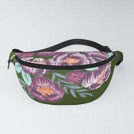 Jungle Flowers Fanny Pack