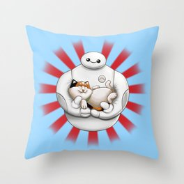 Hairy Baby Throw Pillow
