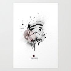 Stormtrooper: Based on a true story Art Print