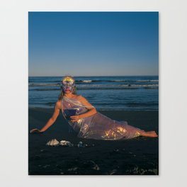 The Woman of Cups Canvas Print