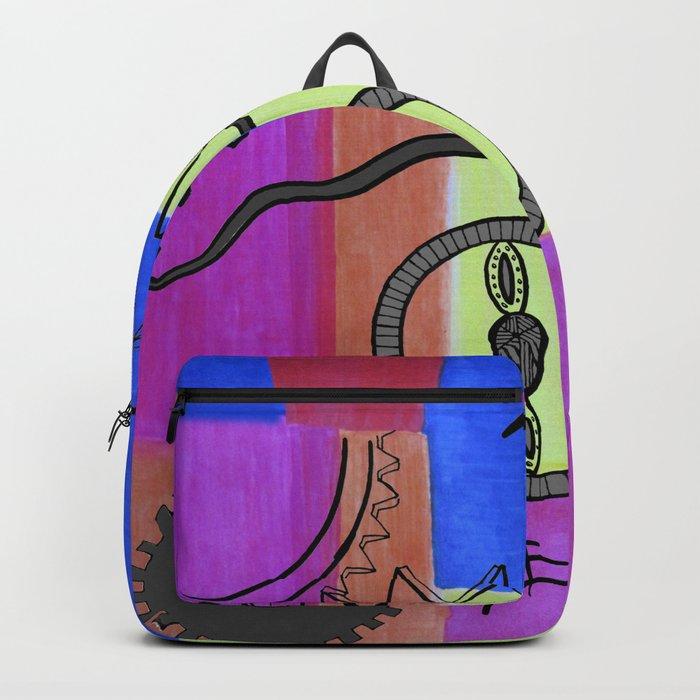 avant-garde still life Backpack