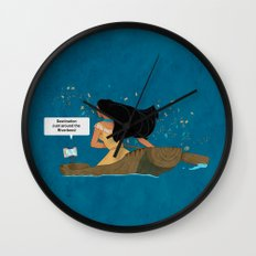 Pocahontas - Just around the Riverbend Wall Clock