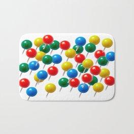 Pushpins Bath Mat