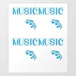 Music is not what i do it's who I am Art Print