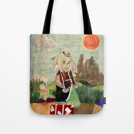 the peculiar adventures of alabee blonde Tote Bag
