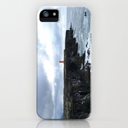 Lonely lighthouse iPhone Case