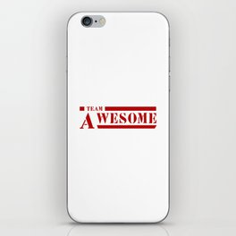 Team A awesome iPhone Skin