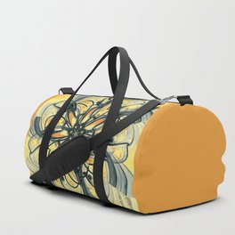 Swirly Flower Abstract 06 Duffle Bag