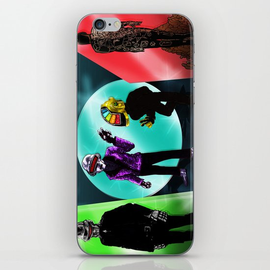 """Random Access Memories"" [Chroma Version] by the CoS Art Dept iPhone & iPod Skin"