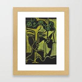 Egos Framed Art Print