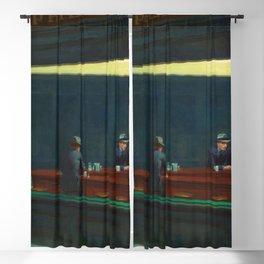 NIGHTHAWKS - EDWARD HOPPER Blackout Curtain