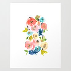 Floral POP #2 Art Print