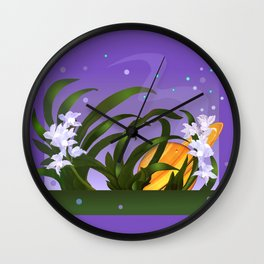The Flowering of the Universe Wall Clock