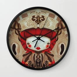 """Kokeshi Doll"" Wall Clock"