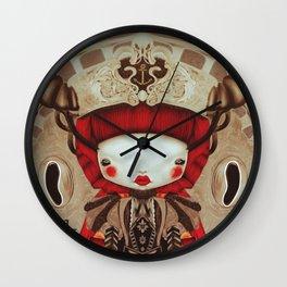 """Kokeshi Doll"" Wall Clock"
