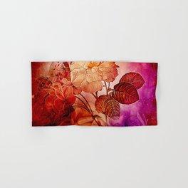 Power flowers, wonderful floral design Hand & Bath Towel