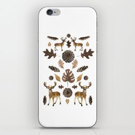 WOODS COLLAGE iPhone Skin
