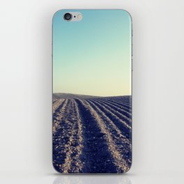 Rural Farm ploughed field iPhone Skin