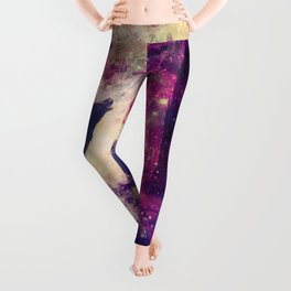 Alone in the Magic forest Leggings