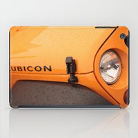 jeep iPad Cases featuring Jeep Rubicon by SShaw Photographic
