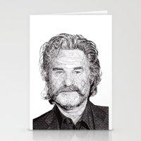 kurt rahn Stationery Cards featuring Kurt by Rik Reimert