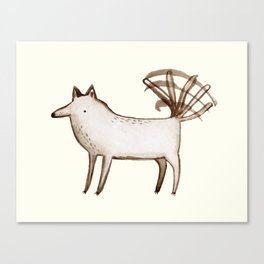 """I'm So Happy"" - Dog Canvas Print"
