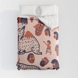 Desert People Comforters