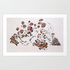 the garden of life Art Print