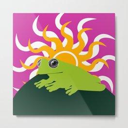 glass frog Metal Print