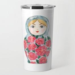 Matryoshka Doll #3 Travel Mug