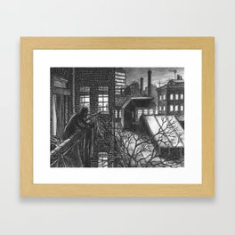 The last washed Framed Art Print