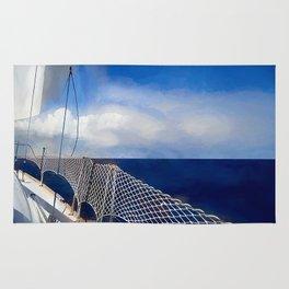 I am sailing Rug