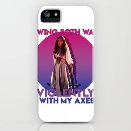 Bisexual Margo iPhone Case