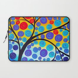 red tree of life Laptop Sleeve
