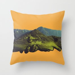 Sound of Color Throw Pillow